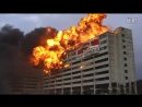 На три вещи можно смотреть бесконечно на огонь, воду и на демонтаж зданий