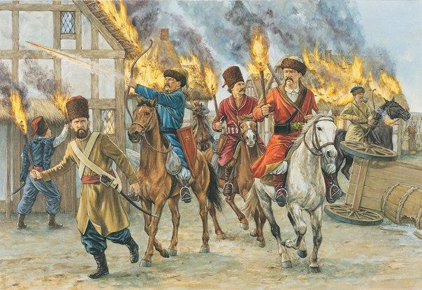 Казаки и калмыки Российской империи в период