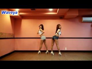 Waveya Ari MiU 웨이브야 아리미유 SISTAR 씨스타 So Cool 쏘쿨 (Dance Tuto)