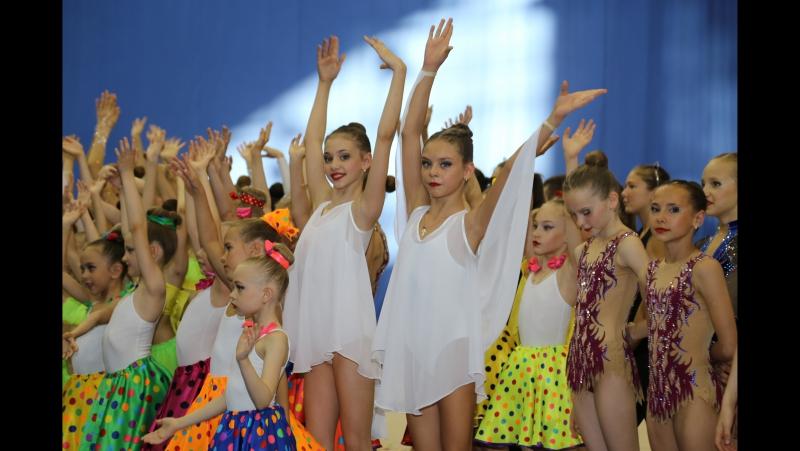 Наши гимнастки - Фестиваль Худ. гимн. СК Буртасы (Пенза)