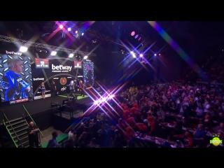 Phil Taylor vs Raymond van Barneveld (2017 Premier League Darts / Week 3)