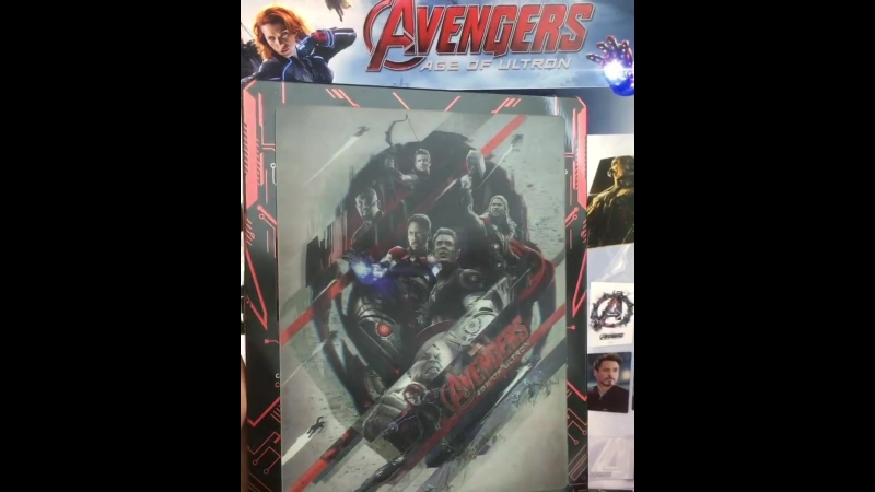 AVENGERS: Age of Ultron [Novamedia Exclusive 14]