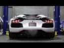 Lamborghini Aventador Roadster LP700 4 with Fi F1 Exhaust