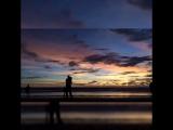 Sunset on Pantai Berawa