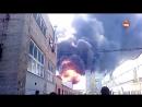 Пожар в Петербурге