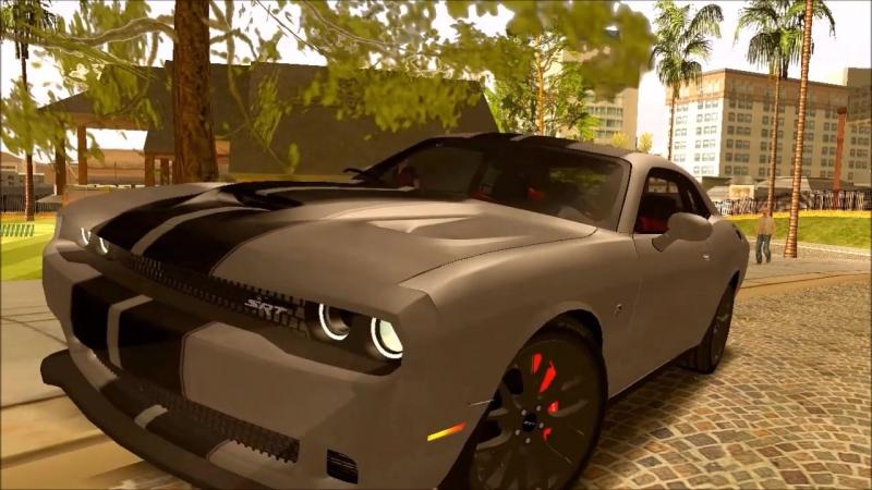 GTA SA Mods Dodge Challenger srt
