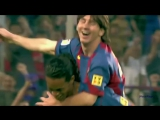 In 2005, Ronaldinho assisted Lionel Messis first ever senior goal for Barcelona.