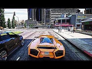 GTA 6 Graphics - GTA 5 Redux Mod 4K - GTX 1080 TI Gameplay - Lamborghini Reventon