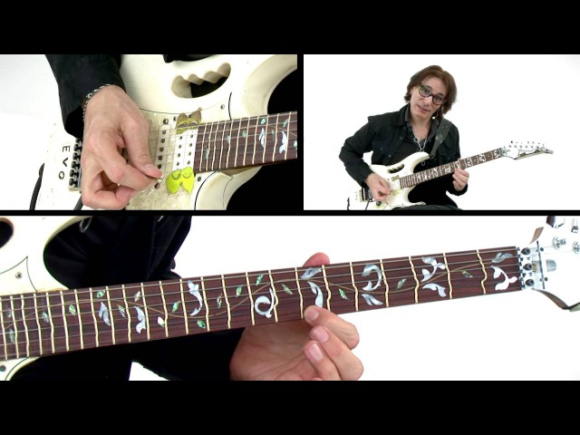 Steve Vai Guitar Lesson - Bending Notes - Alien Guitar Secrets: Passion Warfare