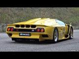 Ultra-RARE Lamborghini Diablo GT1 Stradale - Start Up, Revs &amp Overview!