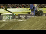 Lee O'Donnell Front Flip at Monster Jam World Finals XVIII Freestyle