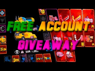 FREE SUPERMECHS ACCOUNT GIVEAWAY / MAX LVL AND 1 RANK 👈