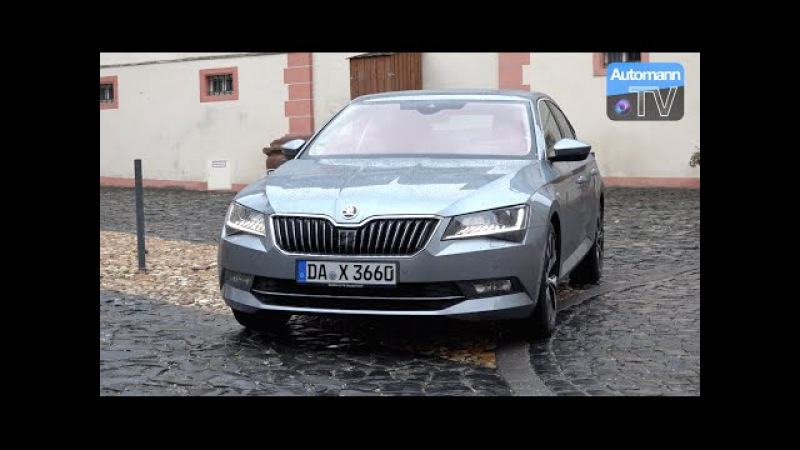 2016 Skoda Superb 2.0 TDI (190hp) - DRIVE SOUND (60FPS)