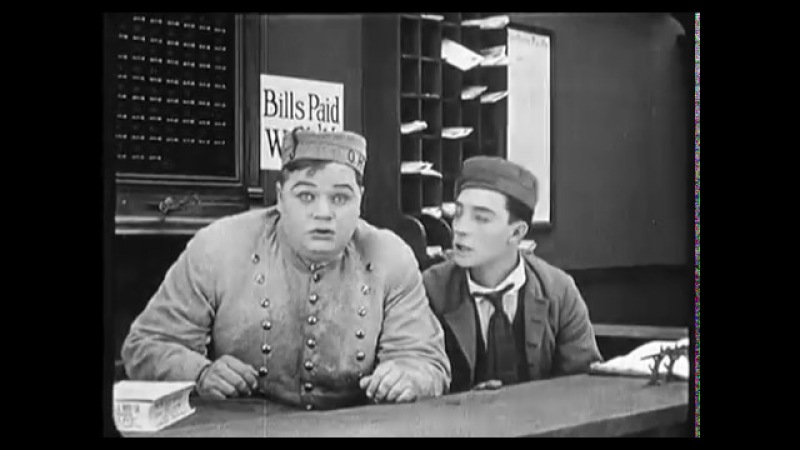Парень по звонку The Bell Boy Роско «Толстяк» Арбакл, Roscoe «Fatty» Arbuckle 1918 » Freewka.com - Смотреть онлайн в хорощем качестве