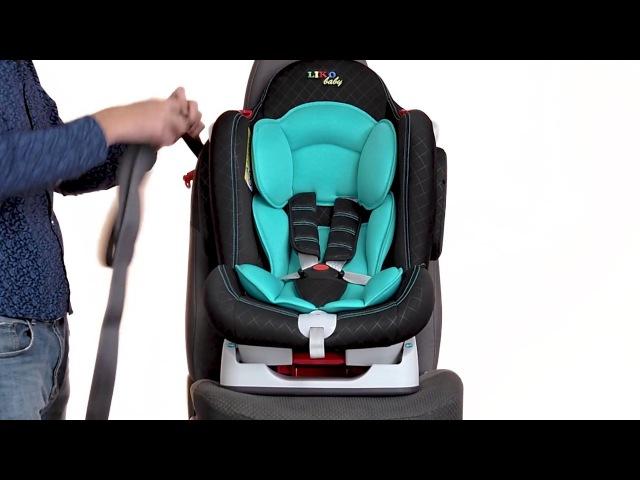 Установка Детского Автокресла в Автомобиль - Liko Baby LB 510