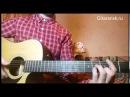 Разбор гитарного боя для песни Варвара