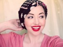 Four New Ways to Tie a Headscarf. More Vintage Glamour!