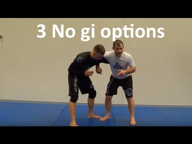 3 no gi techniques from an Overhook from