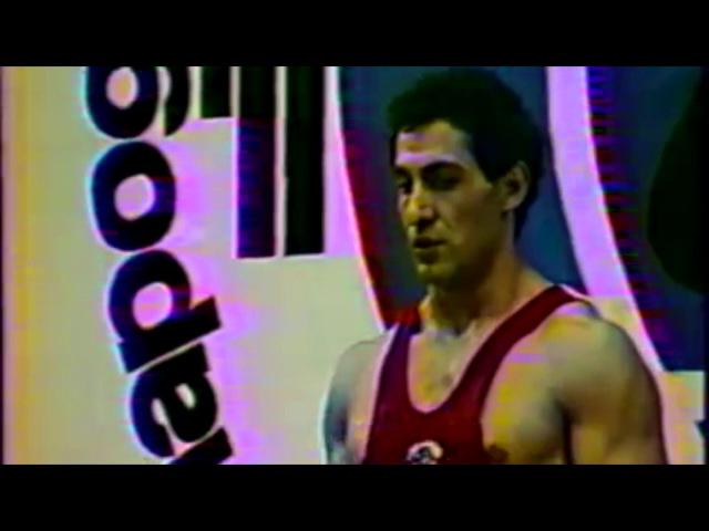 Тяжелаяатлетика РЫВОК, Юрик Варданян (СССР) Weightlifting