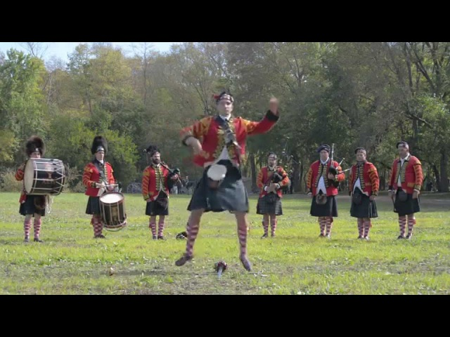 Scottish Sword Dance - Mississinewa 1812 - 42nd Royal Highlanders