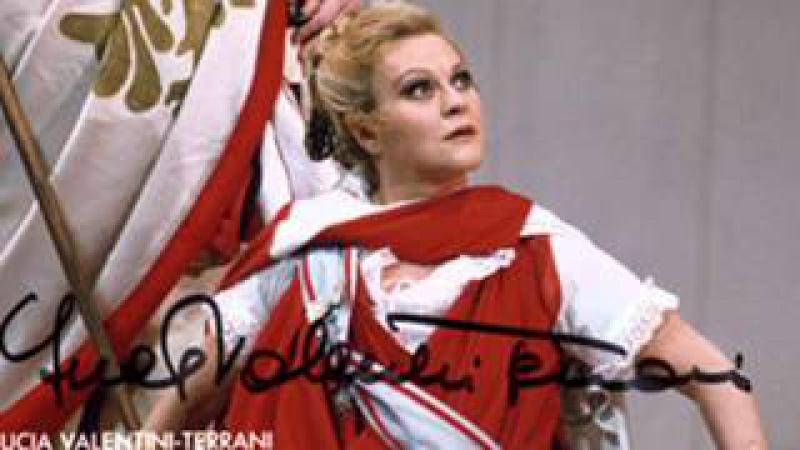 Great singers in Lisbon: Lucia Valentini-Terrani (La Cenerentola)