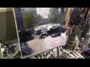 Городская улица, машины, дома архитектура Мастер класс Художник Игорь Сахаров