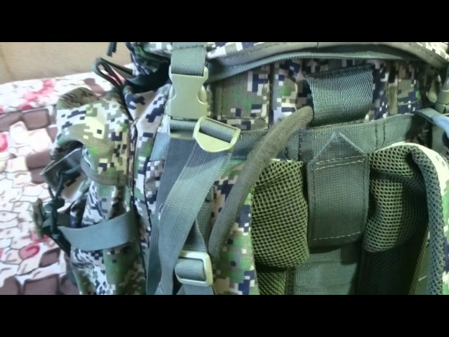 Обзор рюкзака Атака 5 от Союзспецоснащение дополнение