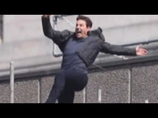 See Tom Cruise's Stunt Go Wrong on 'Mission Impossible' Set