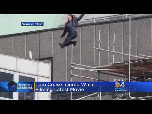 Tom Cruise Slams Into Building While Filming New Mission Impossible Film