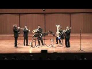 Gomalan Brass Quintet - Morricone live in Rome