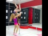 pole dance Учим рондат, студия Дайкири, Чебоксары