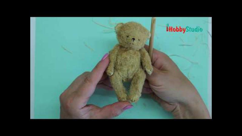 7. Сборка медвежонка Тедди