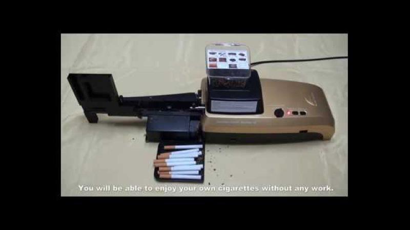 Automatyczna nabijarka tłokowa do papierosów / Model C-101 / C101