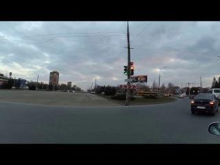 Vlog: Вечерняя Прогулочка. Друг чуть не провалился под Лёд.