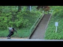 MASSIVE BS FEEBLE CRUSTY 33 STAIR RAIL!?!! - WTF! - Dalton Dern