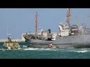 Освобождение судна, захваченного террористами. Эпизод парада в честь Дня ВМФ в С
