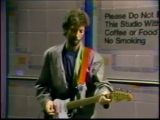 Eric Clapton (live) - May 7th, 1985, Late Night, New York, NY (JEMS Archive)