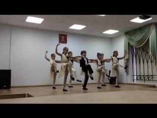 Танец Сиртаки, 3В класс - Ноябрь 2016