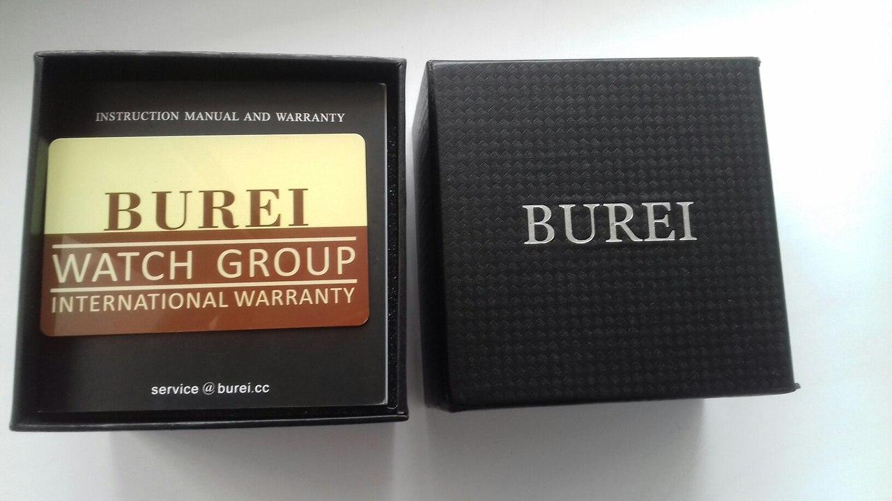 Долгожданные часы от BUREI official store