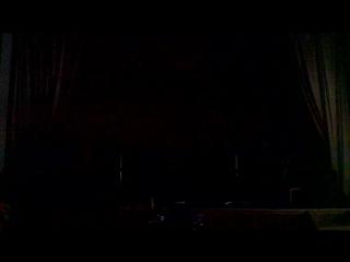 И тут вдруг выключили свет, выручил аккордеон......