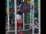Стэфани Коэн - присед 150 кг на 6 повторов