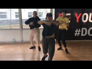 Dance studio BE YOURSELF / Choreography by AGNESS