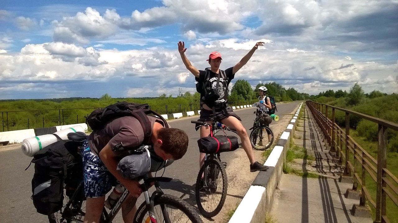 Грязевой велопоход: Мир - Щорсы - Любча - Полонечка - Снов  (Беларусь)