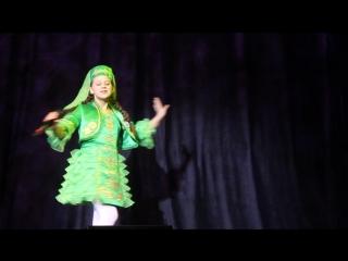 Выступление Вероники на конкурсе