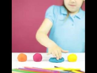 Домашний пластилин для детей.