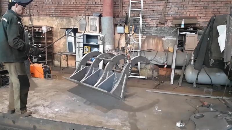 Корчеватель для трактора от Завода ковшей (www.заводковшей.рф)