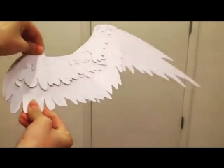 Prototyping a paper wing_by Yuumei
