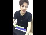 [Фэйсбук] 170105 Джексон @ In Style Korea