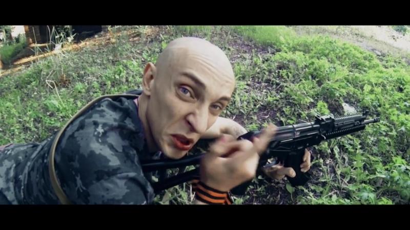Расеянская История Х - Пьяные ополченцы обстреляли Донбасс и мирных жителей. Их там нет