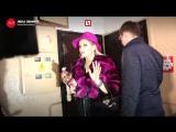 Лена Ленина устроила шоу у дома Степанова